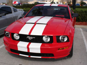 05 09 Ford Mustang 67gt Sh Gt Gt R Style Ram Air Functional Hood 1pc Body Kit