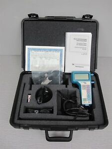 Tsi Velocicalc Plus 8384 Multi parameter Temperature Velocity Ventilation Meter