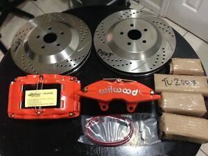 Big Brake Upgrade Kit Wilwood Toyota Celica Gt Gts Alltrac 90 93