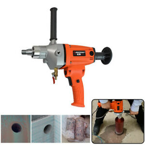 Diamond Core Drill Concrete Water Drilling Machine Wet dry Handheld 2400w 168mm