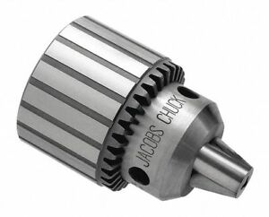 Jacobs Keyed Drill Chuck 0 080 To 0 500 Capacity 5 8 16 Mounting Size