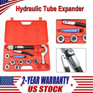 7lever Hydraulic Tube Expander Pipe Tubing Expanding Equipment Swaging Hvac Tool