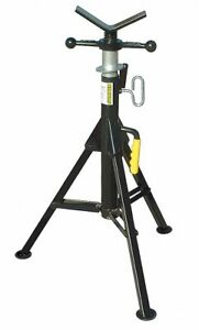 Sumner V head Pipe Stand 24 Pipe Capacity 28 To 49 Overall Height 2500 Lb