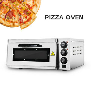 Itop Electric Pizza Oven Single Deck 16 Ce Commercial Baking Toaster Cake Oven