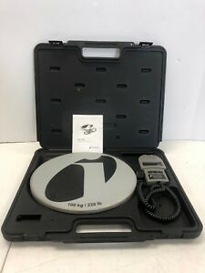 Inficon Wey tek 713 500 g1 220 Lbs 100 Kg Refrigerant Charging Ac Scale W case