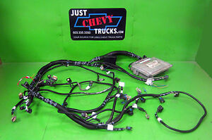 Chevy 4 8 5 3 Or 6 0 Lsx Complete Stand Alone Efi Engine Wire Harness