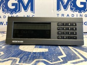 Heidenhain Nd221 Measured Value Display Pgm 246 110 09 Digital Read Out Dro