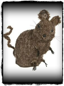 Primitive Country Mouse Doll Stands Alone 6 1 2 Inches Tall
