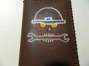 100 Real Leather Hand Made Tally Book For Oilfield Notes Cc