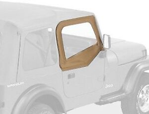 Bestop Soft Fabric Upper Doors 88 95 Jeep Wrangler Yj Spice 51780 37