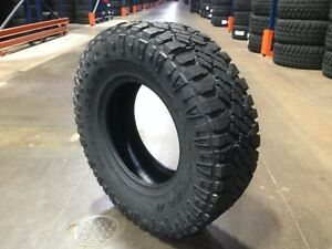 4 New Lt265 75r16 Goodyear Wrangler Duratrac Tires 2657516 M T 10ply 32x10 50