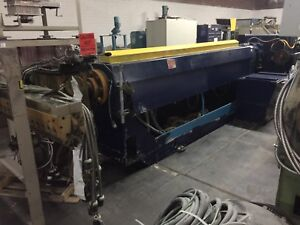 Davis standard 405s 30 To 1 Extruder With Edi Sheet Die 150 Hp Motor Used