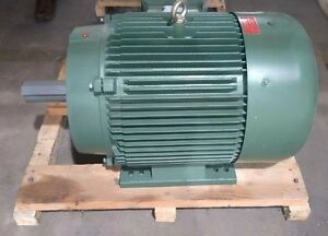 30 Hp 3ph Electric Motor 286t 1800rpm Premium Efficient Severe Duty Csa Approved