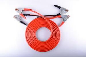 Heavy Duty 20ft Long Jumper Cable 2 Gauge Road Power Booster Car Battery Charger