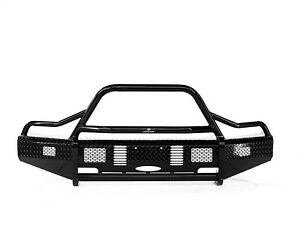 Ranch Hand Bsf15hbl1 Summit Bullnose Series Front Bumper Fits 15 17 F 150