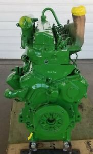 John Deere 6 Cylinder 359d Used Engine 2940 2950 2955 3040 3140 6359d Jd