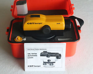 Cst berger Sal 24x Automatic Level W Hard Case