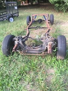 1954 Studebaker Champion Coupe Engine Transmission Chassis