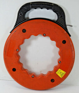Klein Tools Speedway 240 Ft Flat Steel Fish Tape Wire Puller Cat No 50221