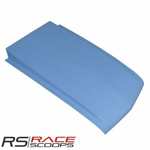 49 L X 2 5 H Cowl Hood Scoop Fiberglass For Chevrolet Truck S10 1994 2004