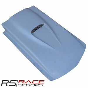 39 l X 5 h Cowl Induction Hood Scoop W Mini Ss Grill