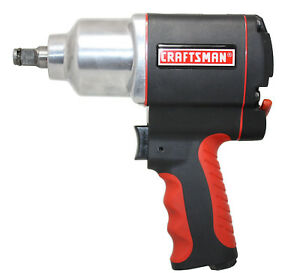 Craftsman 1 2 In Impact Wrench Heavy Duty 7000 Rpm 5 2 Cfm Portable Air Tool