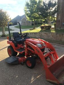 Kubota Bx 1850 With 54 Mowing Deck Loader And 4 Back Blade