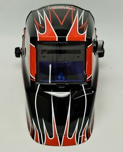 Lincoln Electric Welding Helmet Black With Flames