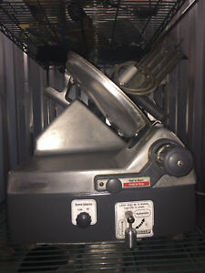 Hobart 2712 Meat Cheese Slicer Heavy Duty Commerrcial With Sharpener