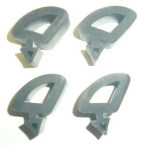New 1967 1972 Chevy Or Gmc Pickup Truck Or Blazer Side Hood Rubber Bumper Set