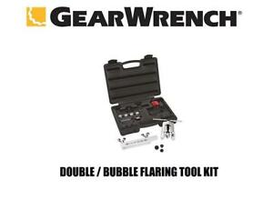 Gearwrench 41880d Double Bubble Flaring Tool Kit New Free Priority Mail