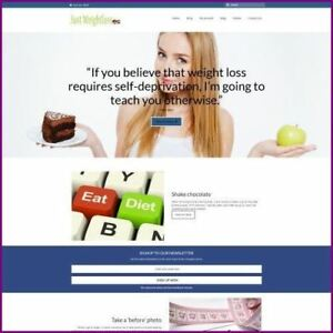 Weightloss Shop Online Business Website For Sale Hosting Domain Amazon