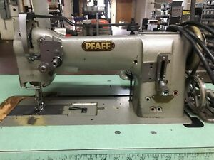 Pfaff 145 h3 Industrial Walking Foot Sewing Machine head Table