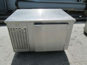 Edwards 48 Stainless Steel Prep Work Table Cooler Sandwich Pizza Salad 1 Door
