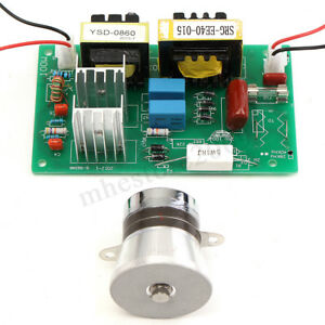 50w 40khz Ultrasonic Cleaning Transducer Cleaner Power Driver Board 110v Ac