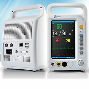 Equipment Medical 8 Inch Tft Display Multi parameter Patient Monitor