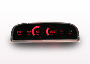 1960 1963 Chevy Truck Digital Dash Panel Red Led Gauges For Ls Engine Usa Made