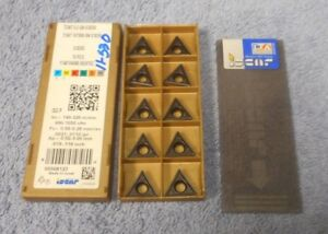 Iscar Carbide Inserts Tcmt 16 T3 08 sm Grade Ic8250 Pack Of 10