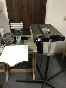Screen Printing Press Workhorse Flash Curing Units