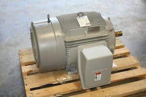 New Siemens 60 Hp Premium Efficiency Electric Motor 1780 Rpm 364t Vfd Compatible