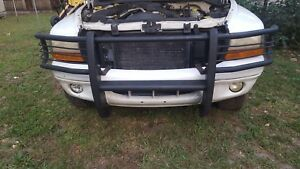 1999 Dodge Durango Dakota Front Bumper Grille Guard Black Oem 1998 2003