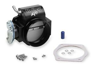 Holley Billet 90mm Ls Throttle Body W Low Rpm Taper 112 589 Cable Driven 4 Bolt
