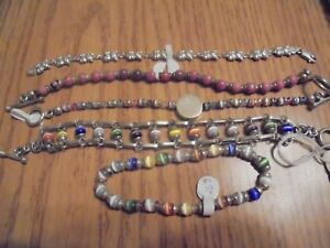 Jewelry Lot To Wear Or Scrap 74 2 Grams Of 925 Sterling Silver 5 Pcs