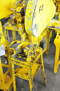 4 Ton X 1 Used Benchmaster Mechanical Obi Punch Press Machine 451 A4234