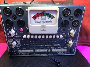 Jackson Model 115 Dynamic Tube Tester Nice Condition Works