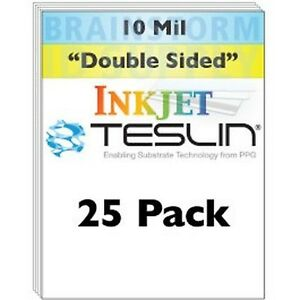 Inkjet Teslin Synthetic Paper 25 Sheets New