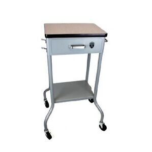 Gomco Stand Cart For Portable Aspirator Med Equip Hospital Surgical Doctor