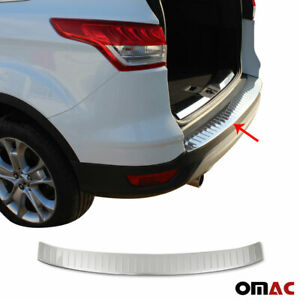 Fits Ford Escape 2013 2019 Chrome Rear Bumper Guard Trunk Sill Protector S steel