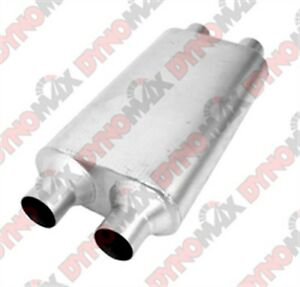 Dynomax 17637 Thrush Welded Muffler 4 X 9 5 2 25 In Inlet Outlet Oval