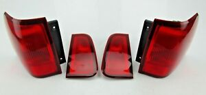 2004 Lincoln Navigator Lot Of 4 Tail Lights Lh Left Rh Right Inner And Outer
